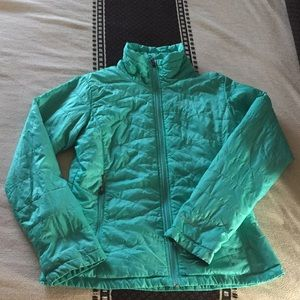 Teal Puffy Women's Jacket